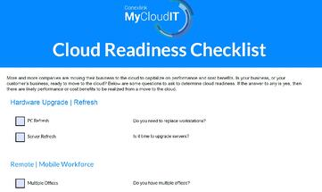 Cloud-readiness-checklist